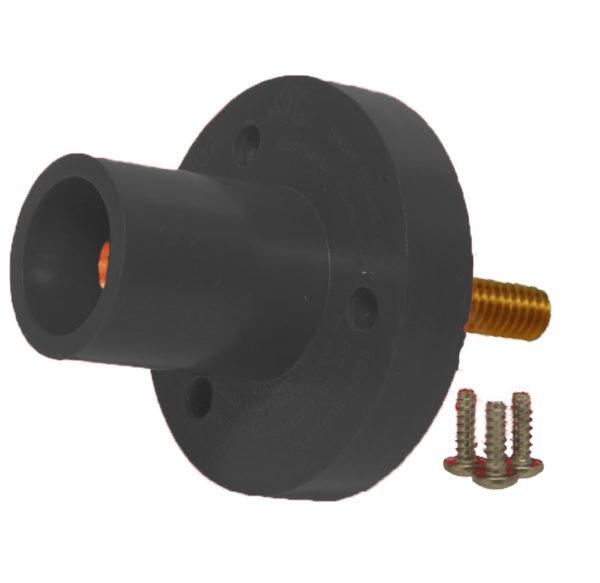 Marinco Series 15, 150 Amp, #8-2 AWG, Mini-Panel Mount Threaded Post 1