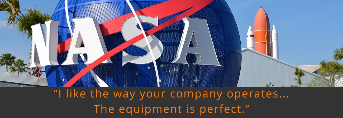 NASA case study button - Customer Stories